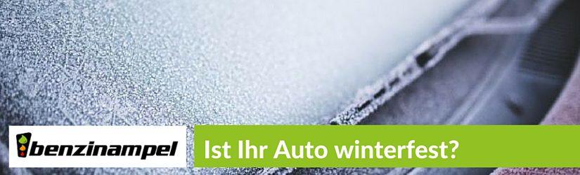 Wie Sie Ihr Auto winterfest machen