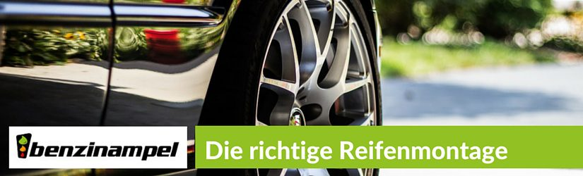 Die richtige Reifenmontage