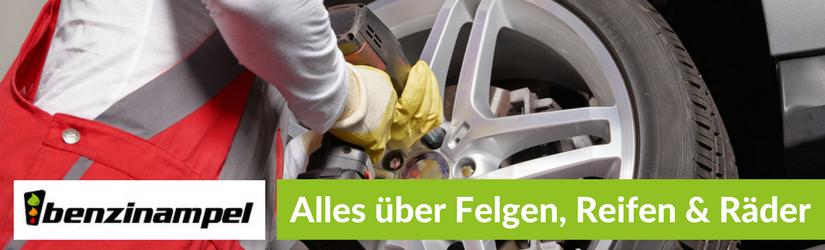 Felgen, Reifen & Räder: Das Runde für's Eckige