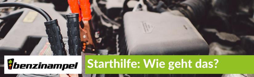 Starthilfe – Wie geht das?