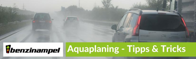 Aquaplaning – Was ist das und was kann ich tun?