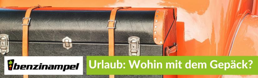 Urlaub mit dem Auto – Wo und wie verstaue ich mein Gepäck?