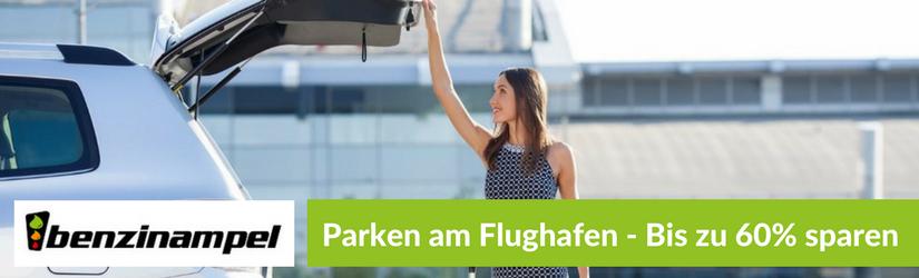 Parken am Flughafen – Bis zu 60% sparen