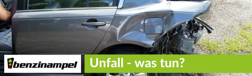 Unfall – Was jetzt?