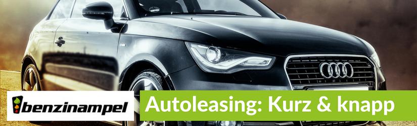 Autoleasing: Was es zu beachten gilt