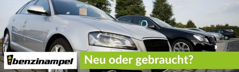 Neu oder gebraucht? Der Ratgeber für den Autokauf
