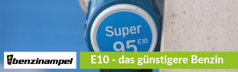 E10 Benzin – das günstigere