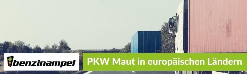 PKW Maut in europäischen Ländern