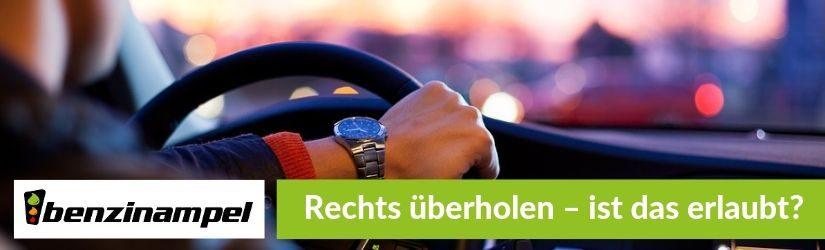 Autobahn – Wann Sie auch rechts überholen dürfen